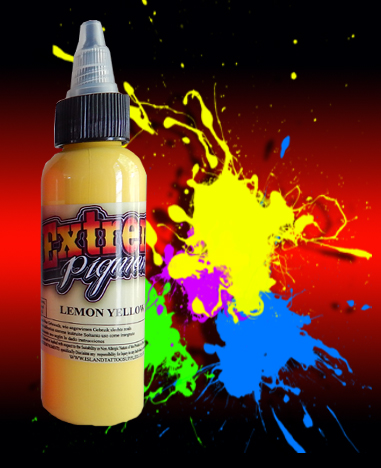 4oz/120ml Extreme Lemon Yellow