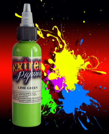 4oz/120ml Extreme Lime Green