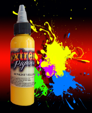 4oz/120ml Extreme Sunkist Yellow